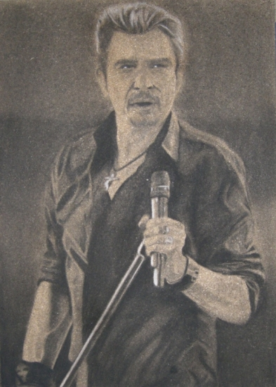 Johnny Hallyday por DOM